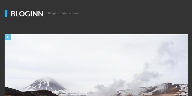 BlogInn - Bold Theme for Ghost