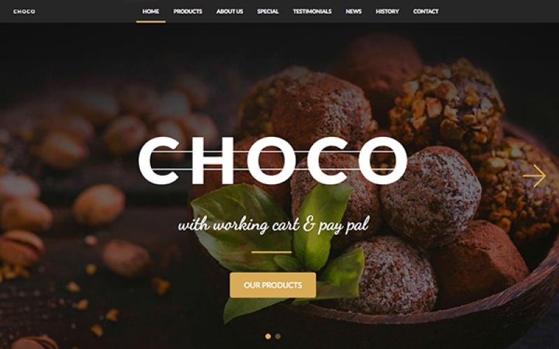 CHOCO - E-commerce 6 templates