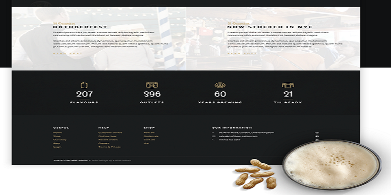 Craft Beer Nation - WooCommerce Theme