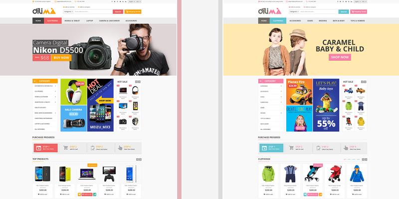 Dilima - Mega Store Responsive Prestashop Theme