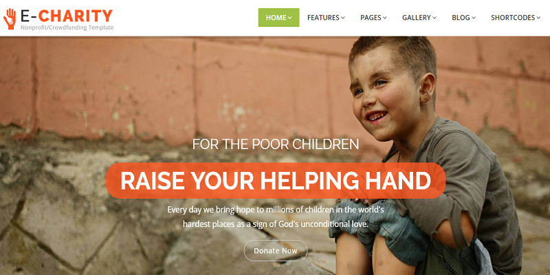 echarity - NonProfit Charity Fundraising