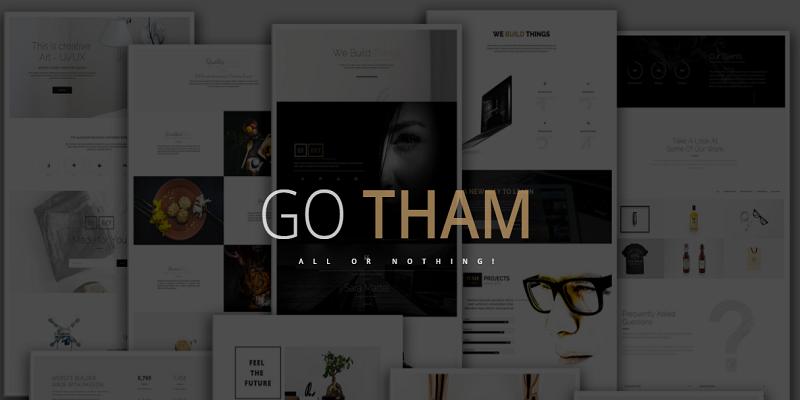 GoTham - Multipurpose HTML5 Responsive Parallax Template