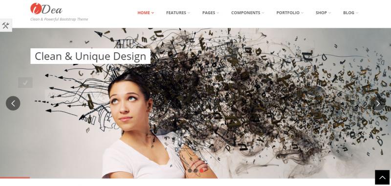 Idea Responsive Website Template