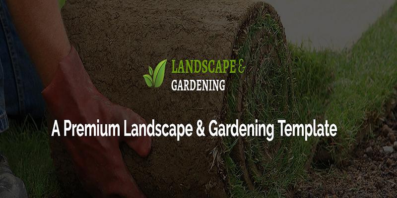 Landscaping - Landscape & Gardening HTML Template