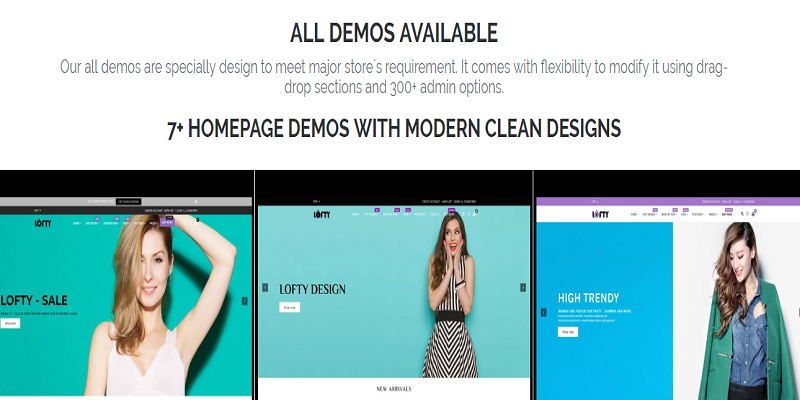 Lofty - Clean & Minimal Shopify Sections Theme