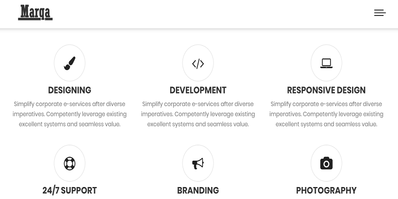 Marqa - One Page Personal & Portfolio HTML Template