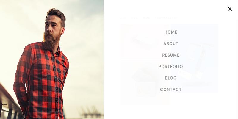 Myers - Responsive vCard / Resume / CV Template