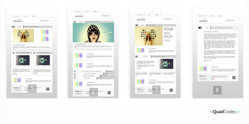 Nexus simpla - Email Template