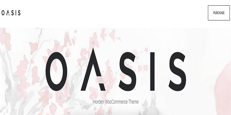 Oasis - Modern WooCommerce Theme