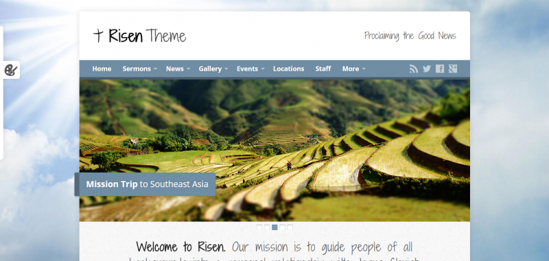 Risen - Church WordPress Theme (Responsive)