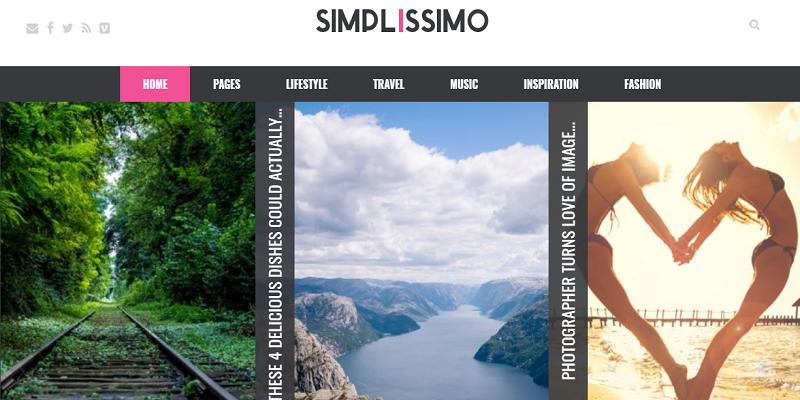 Simplissimo - Blog / Magazine WordPress Theme