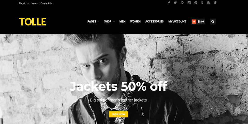 Tolle - Layers eCommerce Theme