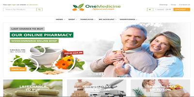 123 Medicine - Pharmacy Shop & Hospital / Medical / Health  Service Theme