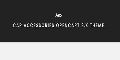 Aero - Car Accessories Responsive Opencart 3.x Theme