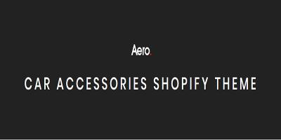 Aero - Responsive Auto, Car Accessories Shopify Theme