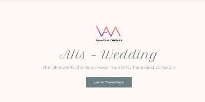 Alis - Wedding & Wedding Planner WordPress