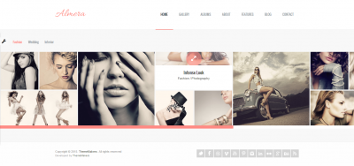 Almera - Modern Agency Portfolio WordPress Theme