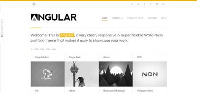 Angular - Responsive Portfolio