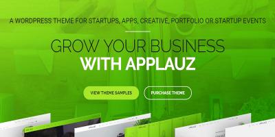 Applauz - Startup, App and Digital Business WordPress Theme