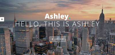 Ashley - One Page Parallax