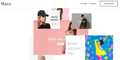 At Manor  Prestashop 1.7.4.x Theme for Fashion - Clothing- Bags - Shoes - Accessories