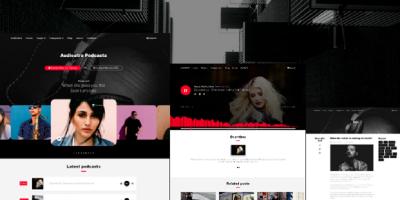 Audioatro - Multipurpose Audio WordPress Theme