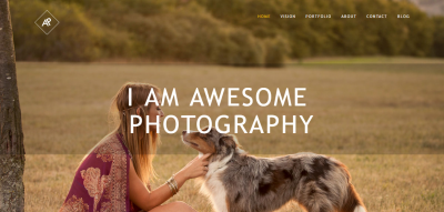 Awesome Photography Bootstrap Template