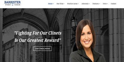 Barrister - Responsive Law Business HTML5 Template