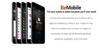 Be Mobile - Mobile Template