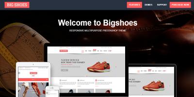 Bigshoes - Fashion Shoes Responsive Prestashop Theme