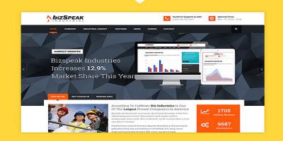 BizSpeak - Industrial Joomla Business Template