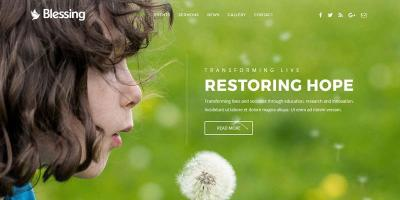 Blessing - Responsive WordPress Theme for Church Websites