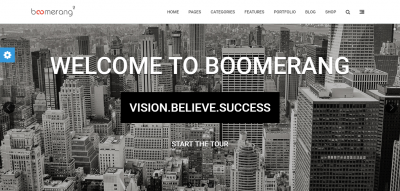 Boomerang - MultiPurpose Template