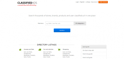 BootListings - Bootstrap Classifieds