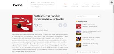 Boxline - Elegant WordPress Magazine Theme