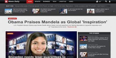 Breaking News Daily-Newspaper Magazine Blog-HTML5