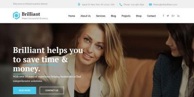 Brilliant - Business Consulting and Professional Services HTML Template