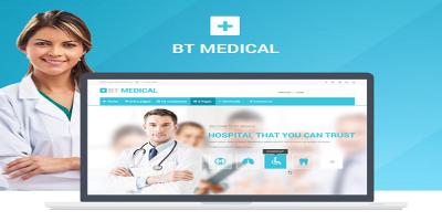 BT Medical - Responsive medical joomla template