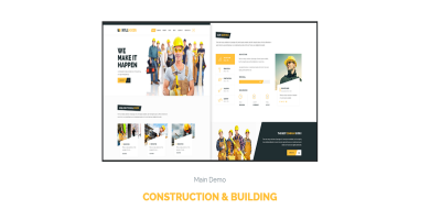 Bulldozer - Responsive Construction & Building WordPress Theme