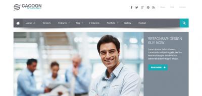 Cacoon :: Responsive Business Joomla Template