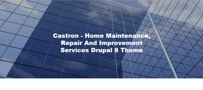 Castron - Home Maintenance, Repair and Improvement Services Drupal 8.6 Theme