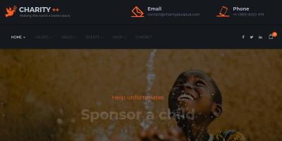 Charity Crowdfunding & Nonprofit - Charity Plus