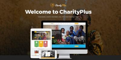 Charity Plus - Multipurpose Nonprofit WordPress Theme