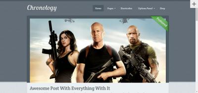 Chronology - Style WordPress Theme