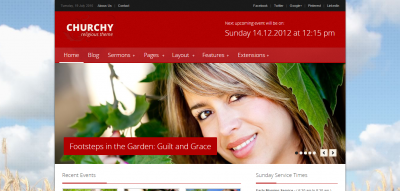 Churchy - Nonprofit Joomla Template
