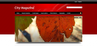 City Magazine - The Most Advanced Drupal Theme.