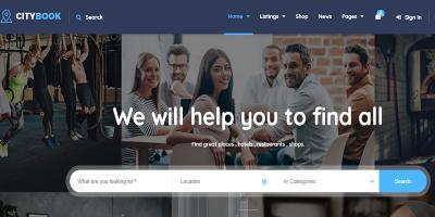 CityBook - Directory & Listing WordPress Theme