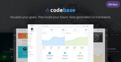Codebase - Bootstrap 4 Admin Dashboard Template + UI Framework