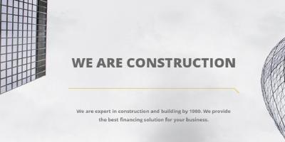 Construction - Building Template with Modular Framework