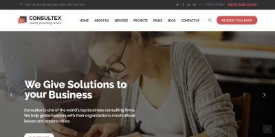 Consultex – Business Consulting WordPress